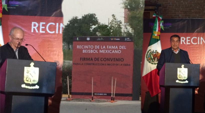 FIRMAN CONVENIO PARA RECINTO DE LA FAMA DEL BEISBOL MEXICANO